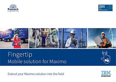 Maximo Fingertip mobile solution brochure